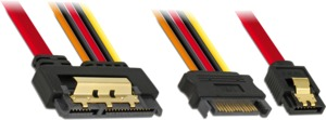 SATA and SATA Power Cable, Intern. 0.3m