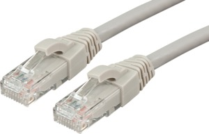 Patch Cable RJ45 U/UTP Cat6 3m Grey