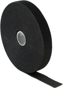 Velcro Cable Binder Roll 10000mm Black