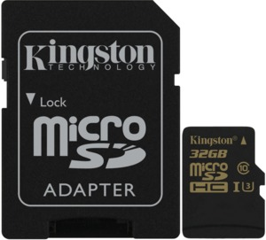 Kingston microSDHC Gold 32GB