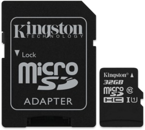 Kingston 32 GB U1 microSDHC