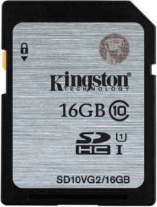 Kingston SDHC Card 16GB