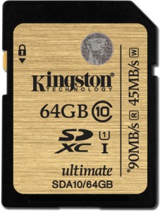 Kingston 64GB SDXC Card