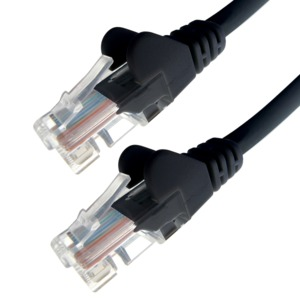 Patch Cable RJ45 UTP Cat6 3m Black