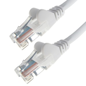 Patch Cable RJ45 Cat6 UTP 0.5 m White