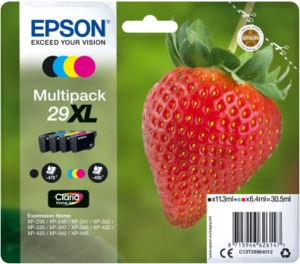 Epson 29XL Ink Multipack (4-pack)
