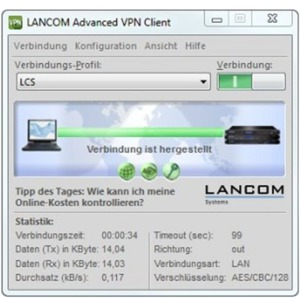 Upgrade client VPN Adv. LANCOM Windows