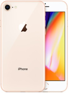 iPhone Apple 8 256 GB, oro
