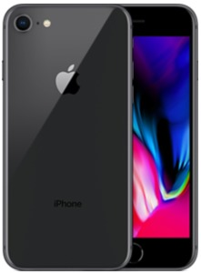 iPhone Apple 8, 256 GB, gris espacial