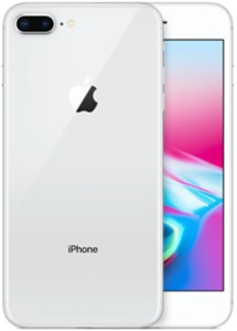 iPhone Apple 8 Plus 256 GB, plata