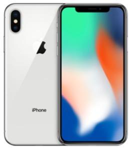 Apple IPhone X 64 GB Silber