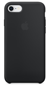 Carcasa silicona Apple iPhone 7/8, negro