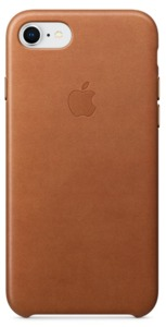 Apple iPhone 7/8 Plus Leather Case Brown