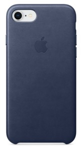 Apple iPhone 7/8 Leather Case Blue