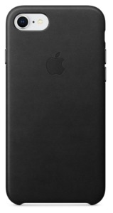 Apple iPhone 7/8 Plus Leather Case Black