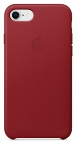 Carc. piel iPhone Apple 7/8 Apple rojo