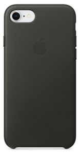 Apple iPhone 7/8 Leather Case Grey