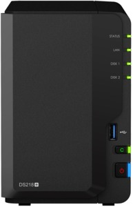 NAS Synology DiskStation DS218+ 2 bahías