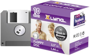 "XLYNE 3.5"" Floppy Disks 1.44MB 10-pack"