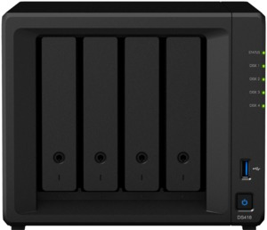 Synology DiskStation DS418 4-Bay NAS