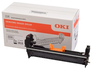 OKI 46484108 Image Drum Black