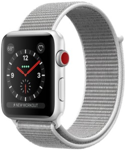 Apple Watch S3 Alu 38 mm Cellular Silber