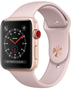 Apple Watch S3 Alu 42 mm Cellular Gold