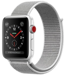 Apple Watch S3 Alu 42 mm Cellular Silber