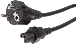 Power Cable Power/m-C5/f 2.5m Black