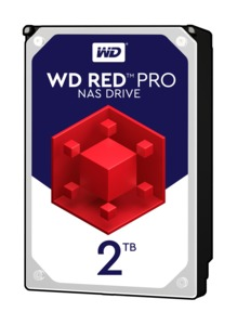 WD Red Pro NAS merevlemez 2TB
