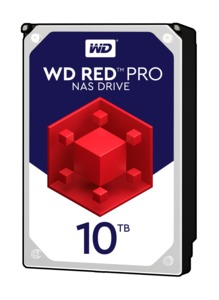 WD Red Pro NAS merevlemez 10 TB