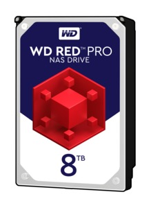 WD Red Pro 8 TB NAS Hard Drive