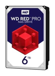 WD Red Pro 6TB NAS Hard Drive