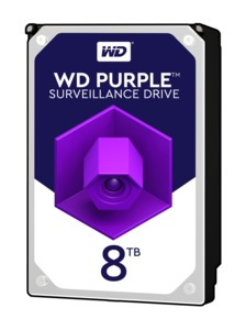 WD Purple 8 TB HDD