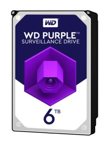 WD Purple 6TB HDD