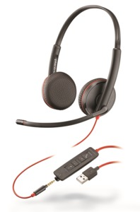 Headset Plantronics Blackwire 3225 USB-A