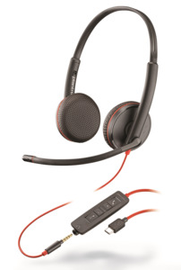 Headset USB-C Plantronics Blackwire 3225