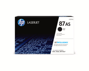 HP 87AS Toner schwarz