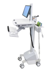 StyleView EMR Cart w/ LCD Pivot, LiFe