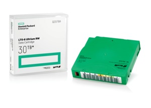 HPE LTO-8 Ultrium Tape + Label