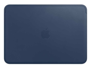 Apple MacBook Leather Sleeve Blue