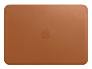 Apple MacBook Leather Sleeve Brown