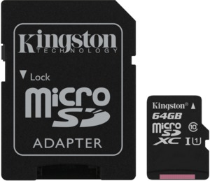 Kingston microSDXC Canvas Select 64GB