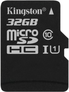 Kingston Canvas Select 32 GB microSDHC