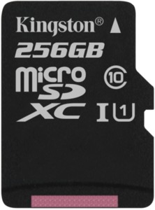Kingston Canvas Select 256 GB microSDXC