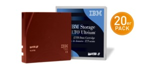 IBM LTO 8 Ultrium Tape 20 St