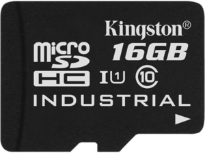Carte microSDHC 16Go Kingston Industrial