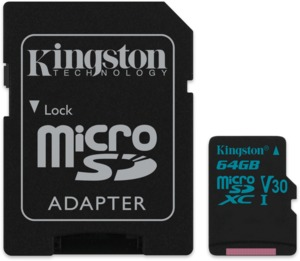 Kingston Canvas Go microSDXC 64 GB