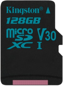 Kingston Canvas Go microSD
