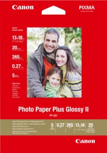 Canon PP-201 Plus Glossy II Photo Paper